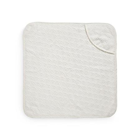CamCam® Brisača s kapuco Off White 80x80