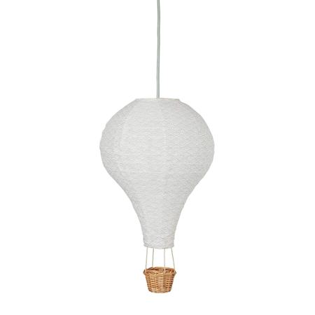 Slika CamCam® Viseča svetilka Hot Air Balloon Grey Wave