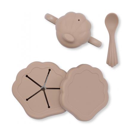 Slika Konges Sløjd® Silikonski set za hranjenje Blush