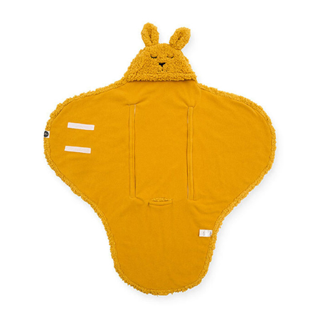 Slika Jollein® Odeja za novorojenčke Bunny Mustard 105x100