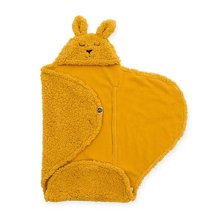 Jollein® Odeja za novorojenčke Bunny Mustard 105x100