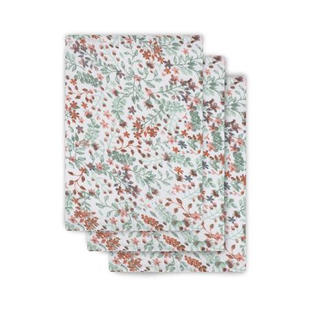 Slika Jollein® Komplet 3 krpic za umivanje Bloom 20x15