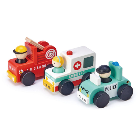 Slika Tender Leaf Toys® Emergency Vehicles
