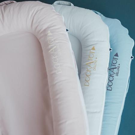 DockAtot® Večnamensko gnezdece Deluxe+ Celestial Blue (0-8m)