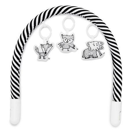 DockAtot® Igralni lok za gnezdece Deluxe+ Black&White