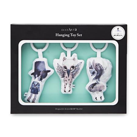 DockAtot® Set aktivnostnih igračk Mrs. Mighetto Cloud Friends