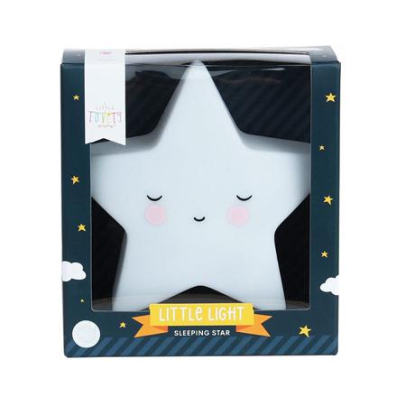 A Little Lovely Company® Majhna lučka Zvezdica Sleepy