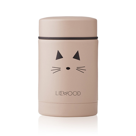 Slika Liewood® Termo posodica Nadja Cat Rose 250ml