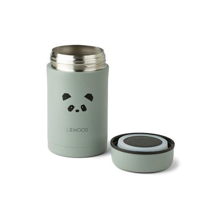 Liewood® Termo posodica Bernard Panda Peppermint 500ml