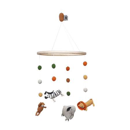 Slika Sebra® Vrtiljak za posteljico Wildlife