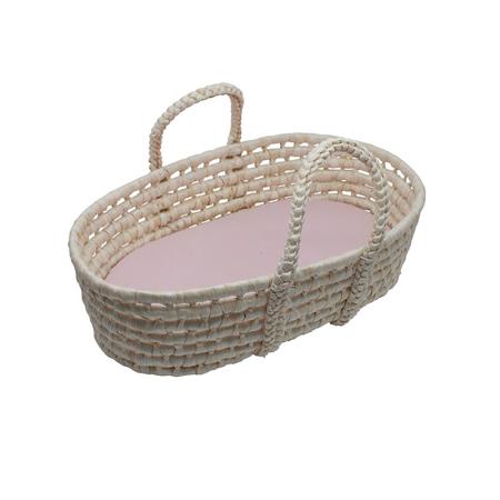 Slika Sebra® Moses košara za lutko Sunset Pink