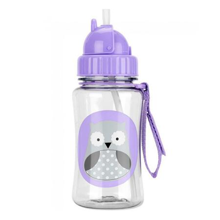 Slika Skip Hop® Steklenička s slamico Sova