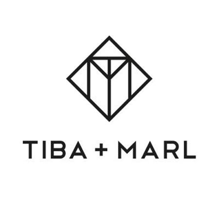 Tiba+Marl® Previjalni nahrbtnik Elwood Faux Black/Gold