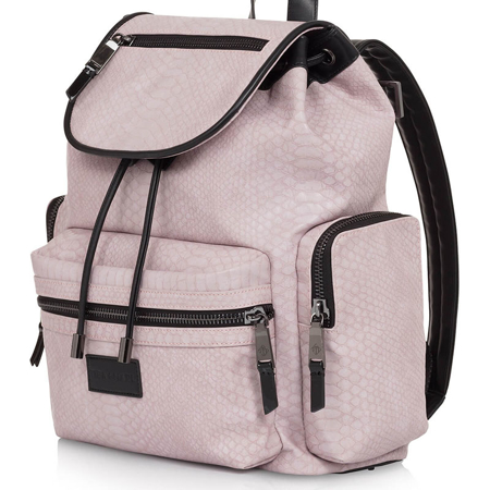 Tiba+Marl® Previjalni nahrbtnik Kaspar Faux Pale Pink