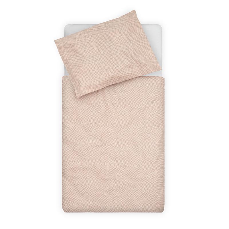 Jollein® Otroška posteljnina Snake Pale Pink 140x100