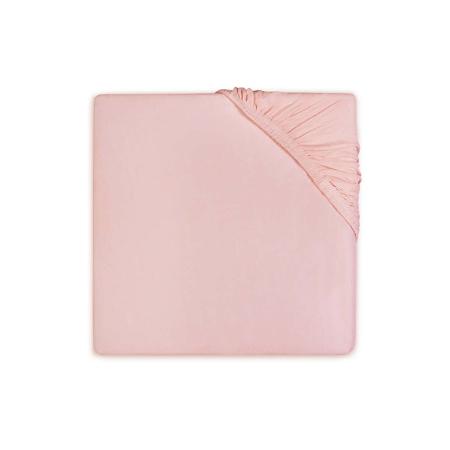 Slika Jollein® Bombažna rjuha Soft Pink 120x60