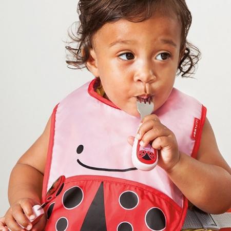 Skip Hop® Otroški jedilni pribor Pikapolonica