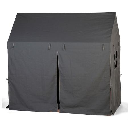 Childhome® Prevleka za posteljni okvir Antracite 140x70