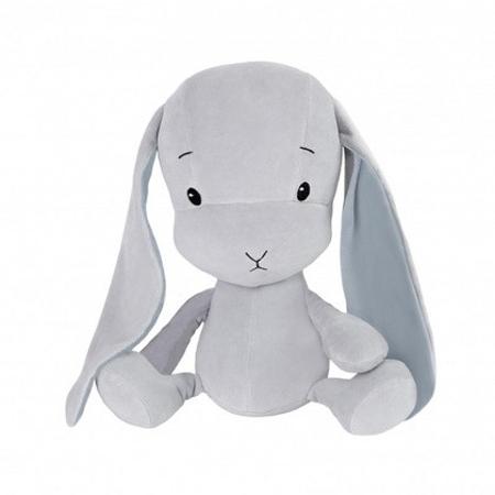 Effiki® Zajček S 20 cm - Siva - Modri uhlji
