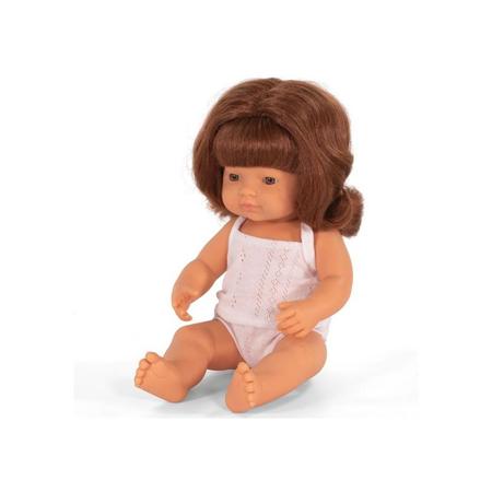 Slika Miniland® Punčka Redhead Girl 38cm