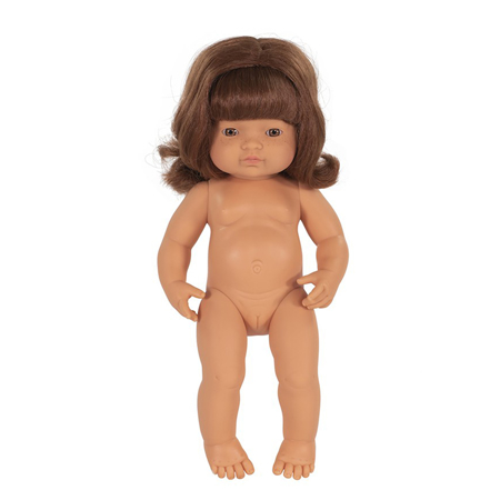 Miniland® Punčka Redhead Girl 38cm