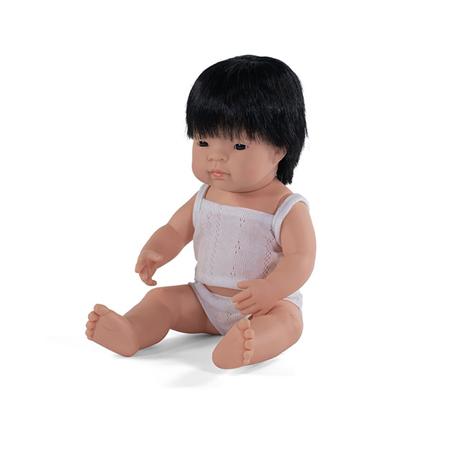 Slika Miniland® Dojenček Asian Boy 38cm