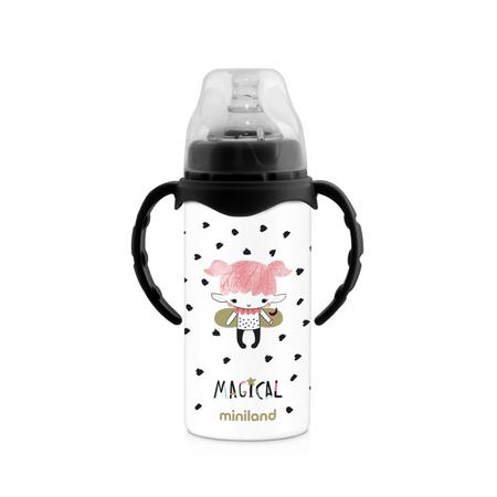 Slika Miniland® Termo steklenička s cucljem Magical 240ml