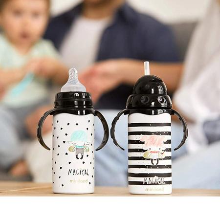 Miniland® Termo steklenička s cucljem Magical 240ml