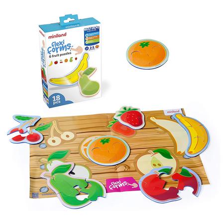 Slika Miniland® Družabna igra Flexiform 6 Fruit