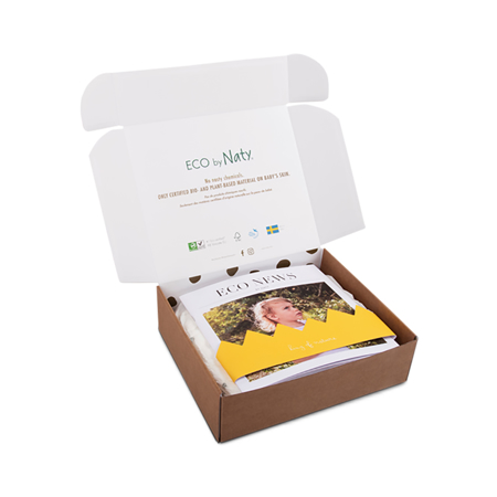 Eco by Naty® Poskusna škatla 3 (4-9 kg) 10 kosov