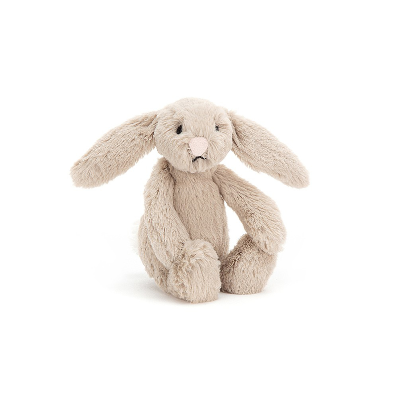 Jellycat® Plišasti zajček Bashful Beige Baby 13cm