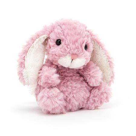Jellycat® Plišasti zajček Yummy Tulip Pink 13cm