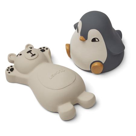 Slika Liewood® Set 2 igrač za kopanje Knud Polar Bear/Penguin Blue Mix