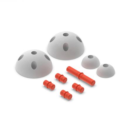 Slika Modu® Pol krogi Half Balls Red