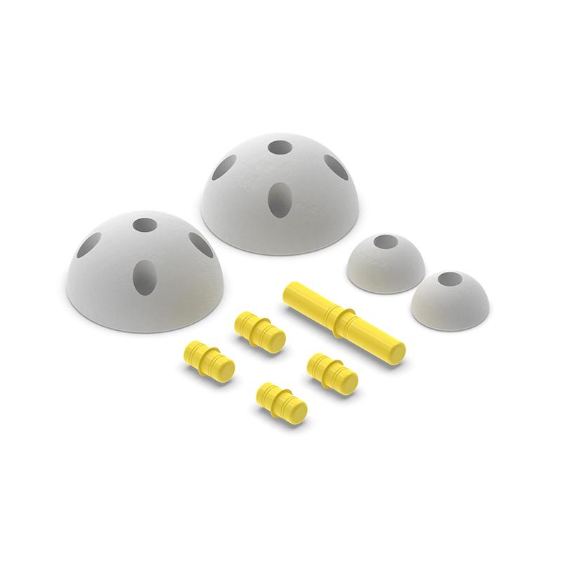 Modu® Pol krogi Half Balls Yellow
