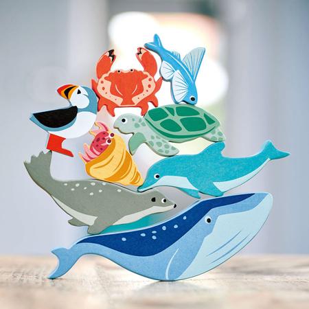 Tender Leaf Toys® Lesene vodne živalice Coastal Creatures