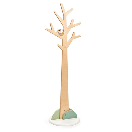 Slika Tender Leaf Toys® Leseni pokončni obešalnik Forest Coat Stand
