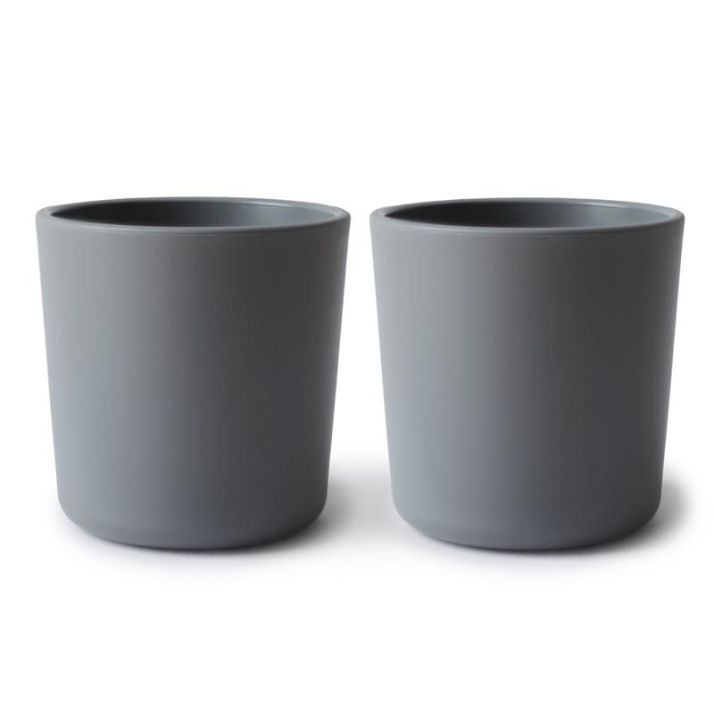Mushie® Set dveh kozarčkov Smoke