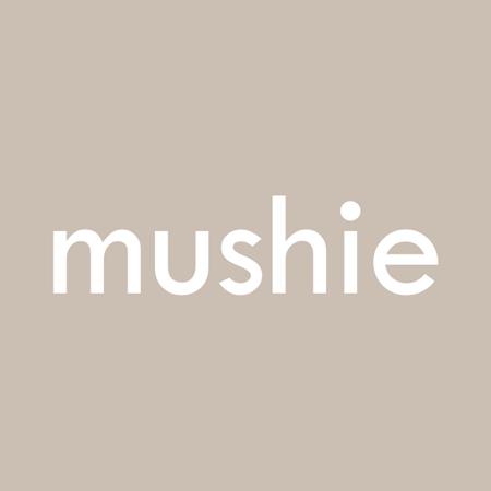 Mushie® Set dveh silikonskih žličk Stone/Cloudy Mauve