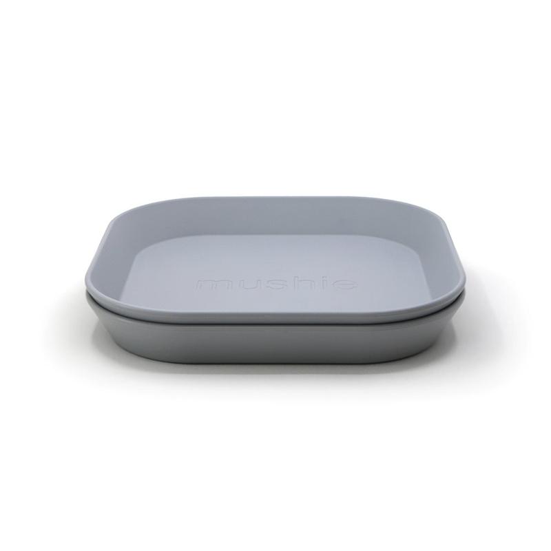 Mushie® Set dveh krožnikov Cloud