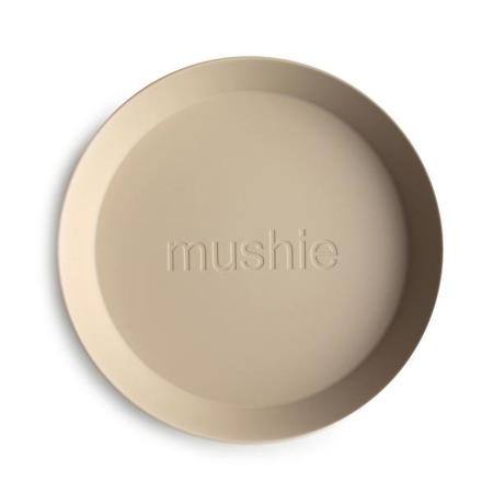 Mushie® Set dveh krožnikov Vanilla
