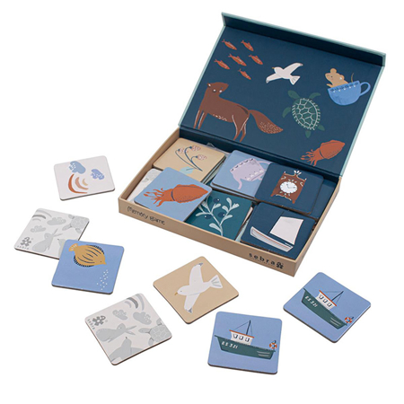 Slika Sebra® Igra spomin v škatli Seven Seas/Daydream