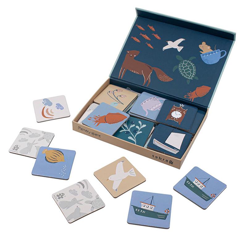 Sebra® Igra spomin v škatli Seven Seas/Daydream
