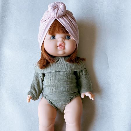 Minikane® Obleka za punčke Colette Vert Olive 34cm