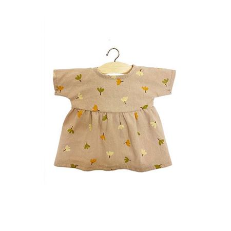 Minikane® Obleka za punčke Faustine Nordic Flowers 34cm