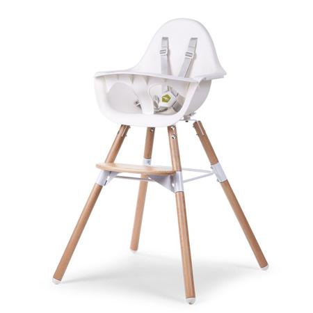 Childhome® Otroški stol Evolu 2 Nature - Bela