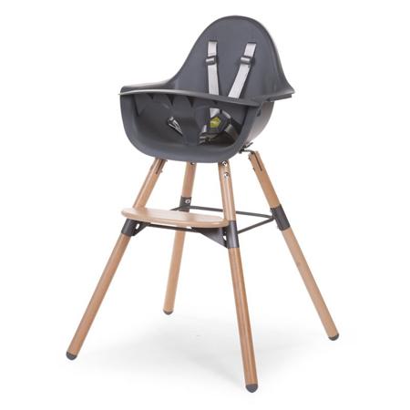 Childhome® Otroški stol Evolu 2 Nature - Črna