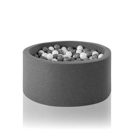 Misioo® Bazen s kroglicami Grey Basic Smart