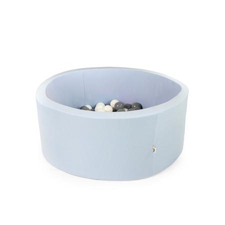 Misioo® Bazen s kroglicami Light Blue Basic Smart