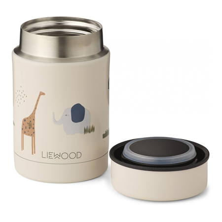 Liewood® Termo posodica Nadja Safari Sandy Mix 250ml